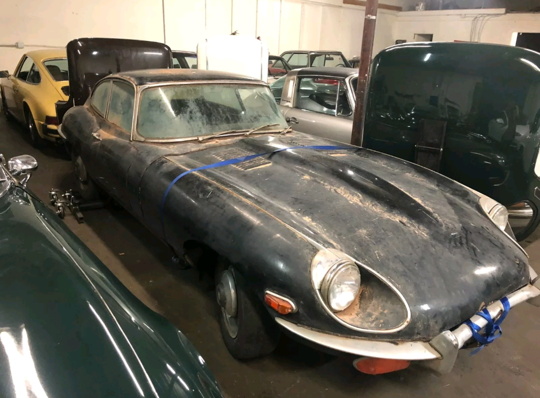 1970 Jaguar E-Type Coupe complete needs restoration For Sale (picture 1 of 4)