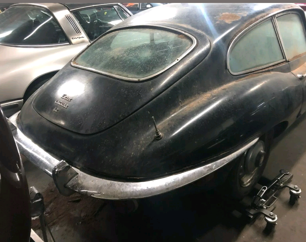 1970 Jaguar E-Type Coupe complete needs restoration For Sale (picture 2 of 4)