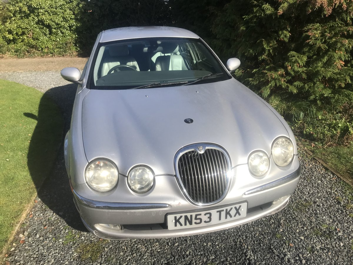 2003 JAGUAR S-TYPE SOLD (picture 1 of 6)