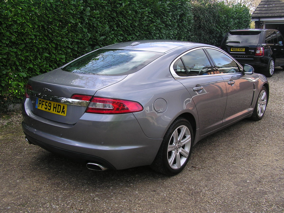 1010 jaguar xf 3.0d luxury automatic For Sale (picture 2 of 6)