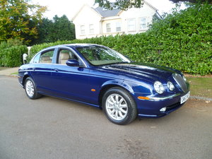 2003 JAGUAR S-TYPE 3 Ltr SE  39,000 miles only SOLD