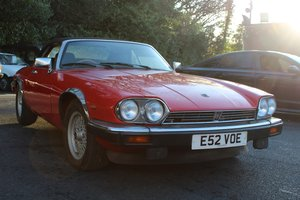 Jaguar XJS Convertible 1988 - To be auctioned 26-04-19 For Sale by Auction