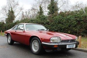 Jaguar XJS 3.6 Auto 1989 - To be auctioned 26-04-19 For Sale by Auction