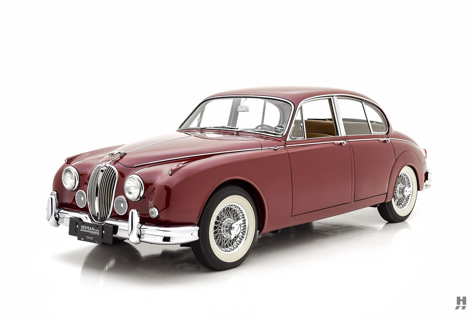 1962 JAGUAR MARK II 3.8 SALOON For Sale (picture 1 of 6)