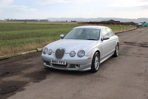 2007 Jaguar S-Type S V6 at Morris Leslie Auction 23rd February SOLD by Auction