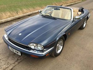 1994 Jaguar XJ-S Convertible A 4.0 at Morris Leslie Auction  SOLD by Auction