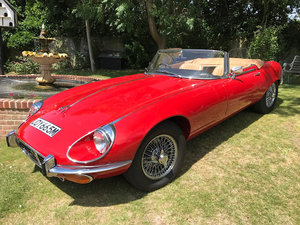 1973 Jaguar e-type convertible For Sale