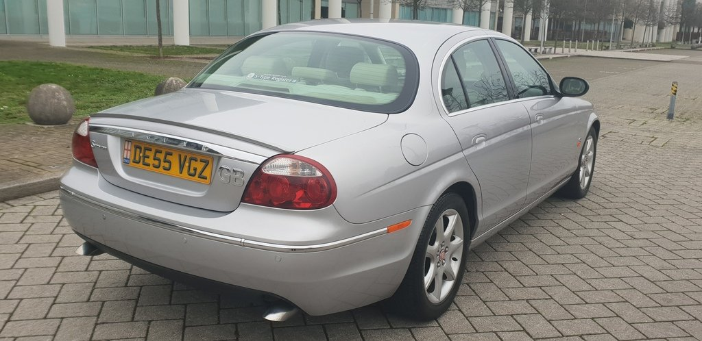 2005 S-TYPE 2.7 DIESEL TWIN TURBO SE V6 AUTO 59K FSH  For Sale (picture 3 of 6)