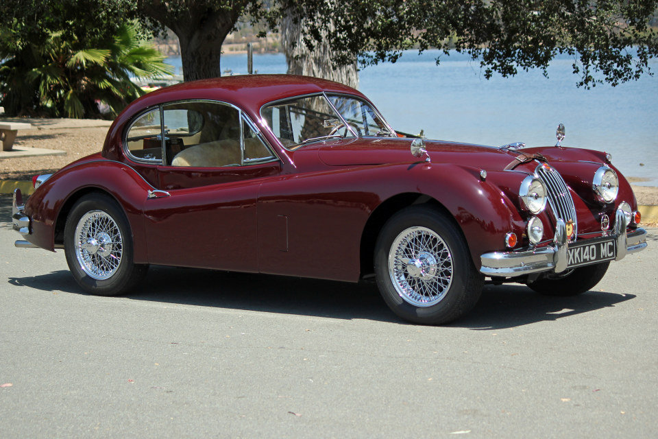 1955 Jaguar XK140 MC Fixed Head Coupe = LHD Restored $149.5k For Sale (picture 1 of 6)
