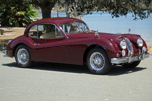 1955 Jaguar XK140 MC Fixed Head Coupe = LHD Restored $149.5k For Sale