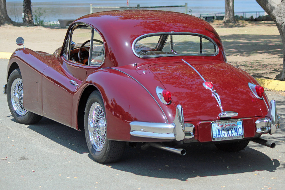 1955 Jaguar XK140 MC Fixed Head Coupe = LHD Restored $149.5k For Sale (picture 2 of 6)