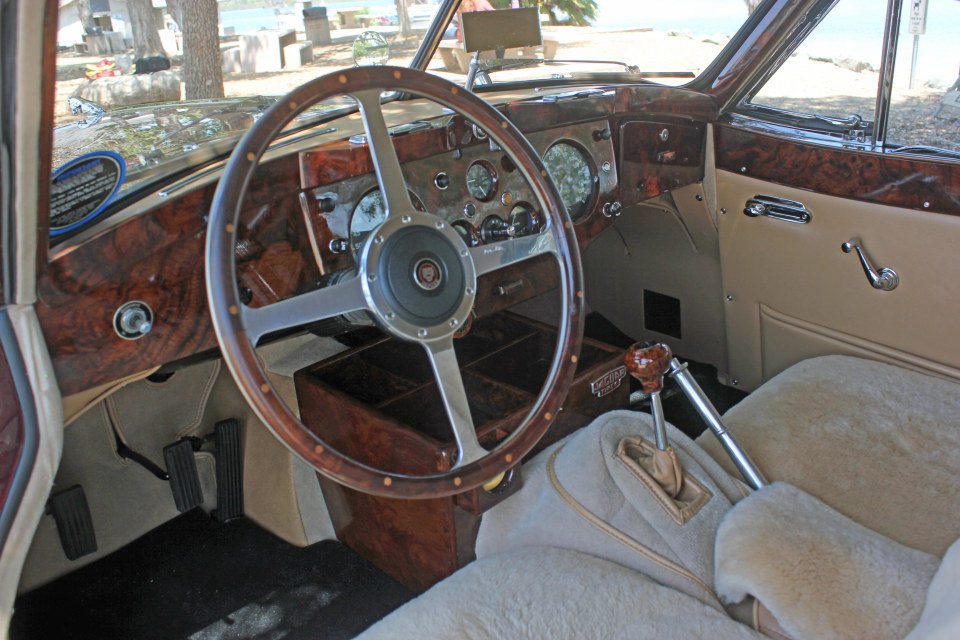 1955 Jaguar XK140 MC Fixed Head Coupe = LHD Restored $149.5k For Sale (picture 4 of 6)
