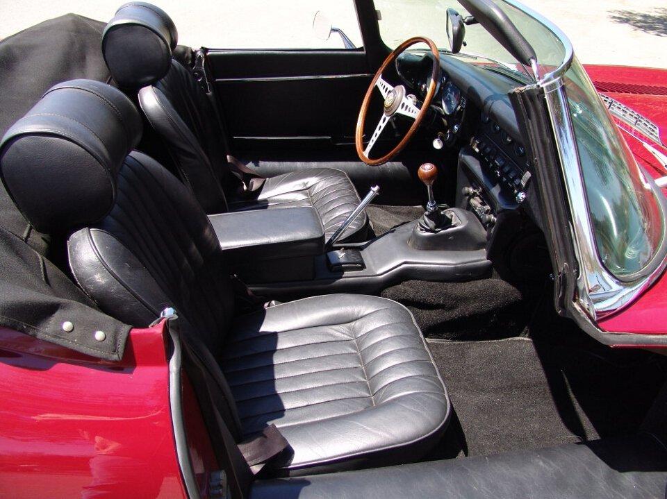 1969 Jaguar E-Type Roadster = Full Restored Burgundy $118k For Sale (picture 4 of 6)