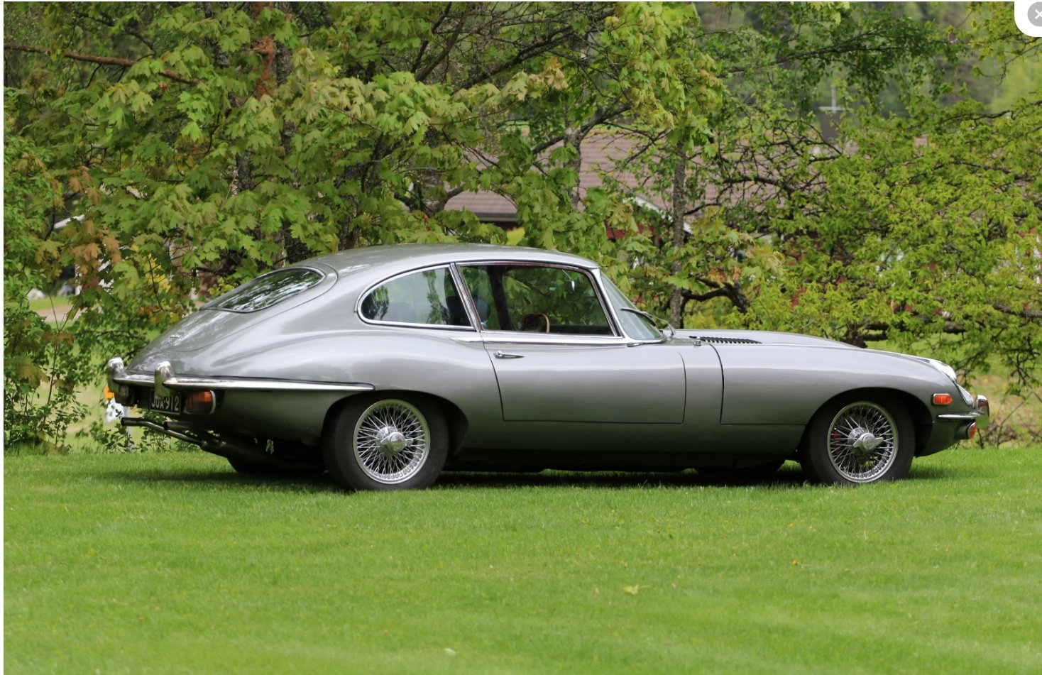1969 Jaguar E-Type 2+2 - matching numbers! For Sale (picture 1 of 6)