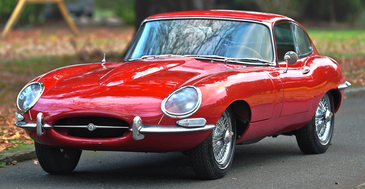 1966 Series One E Type Coupe 4.2 Litre Matching Numbers SOLD (picture 1 of 6)