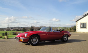 1973 Jaguar E-Type Series 3  SOLD by Auction