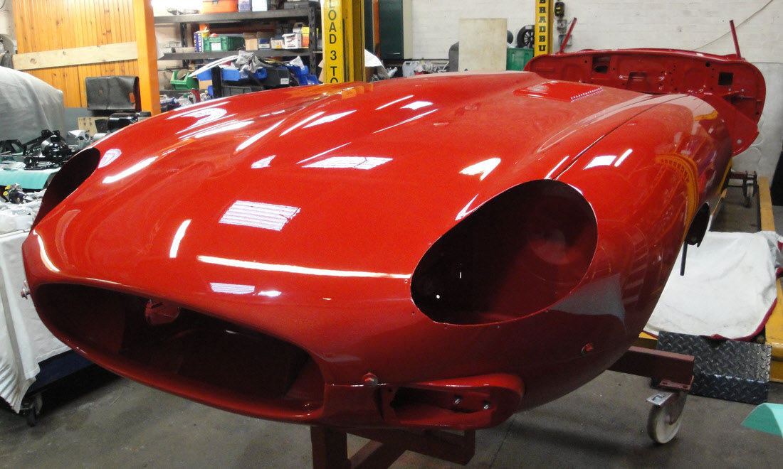 1969 JAGUAR E-Type Series 2 Roadster  For Sale by Auction (picture 1 of 1)