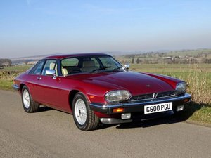 1989 Jaguar XJ-S 5.3 HE For Sale by Auction