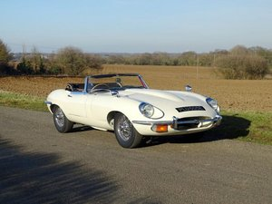 1967 Jaguar E-Type 4.2 Roadster For Sale by Auction