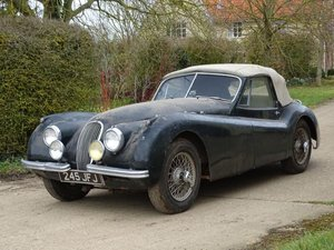1954 Jaguar XK120 SE Drophead Coupe For Sale by Auction