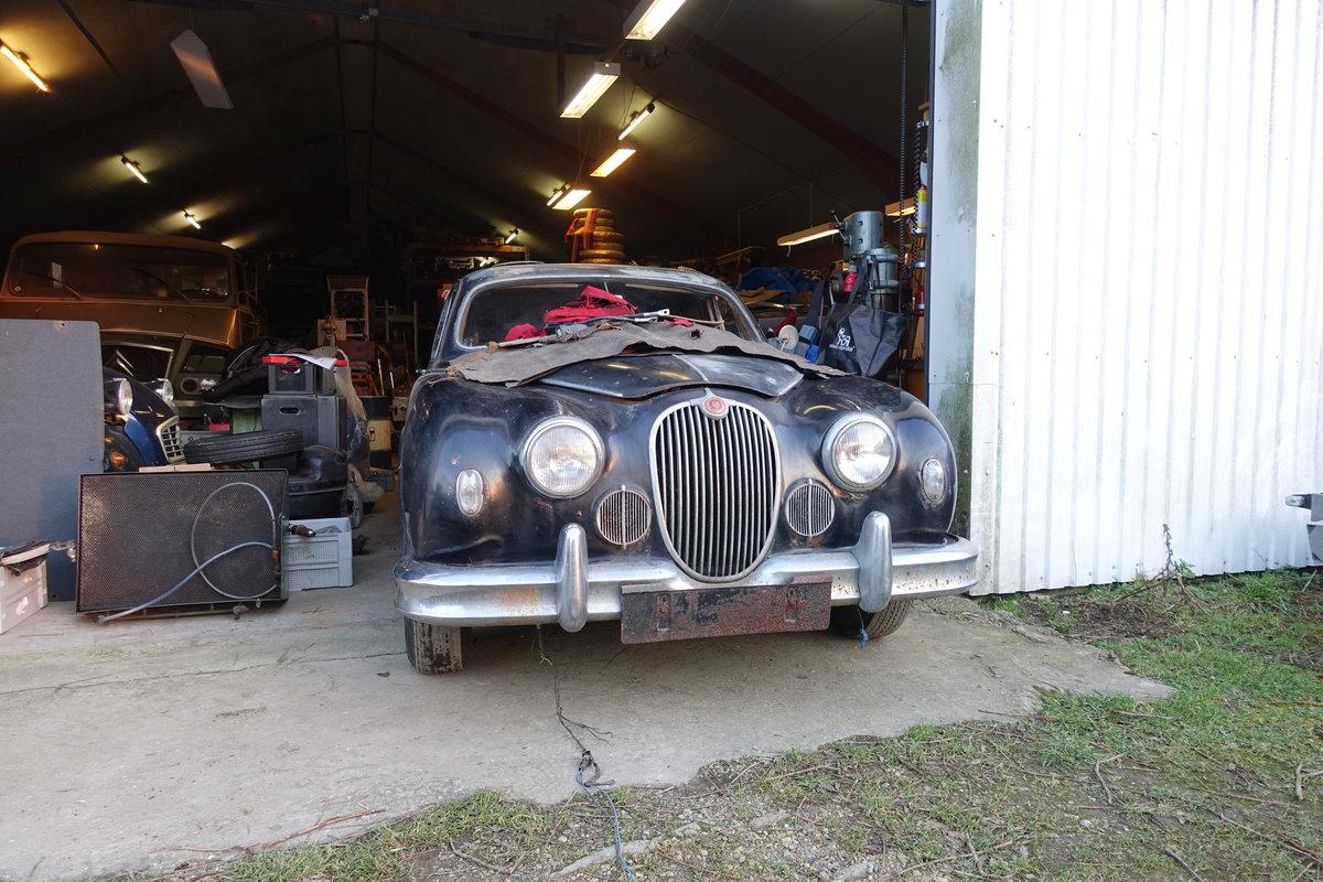 1958 Jaguar Mk 1 3.4 MOD For Sale (picture 1 of 6)