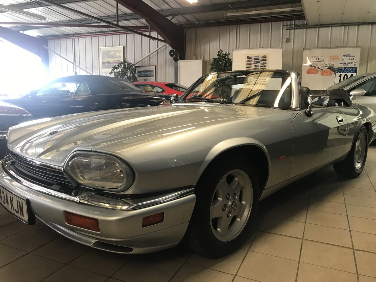 1994 JAGUAR XJS 4.0 AJ16 CONVERTIBLE For Sale (picture 3 of 6)