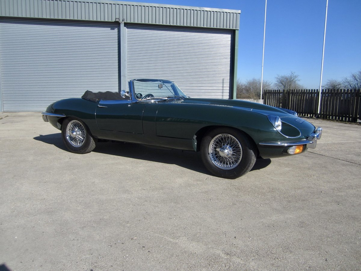 1970 Jaguar E Type SII Roadster For Sale (picture 1 of 6)