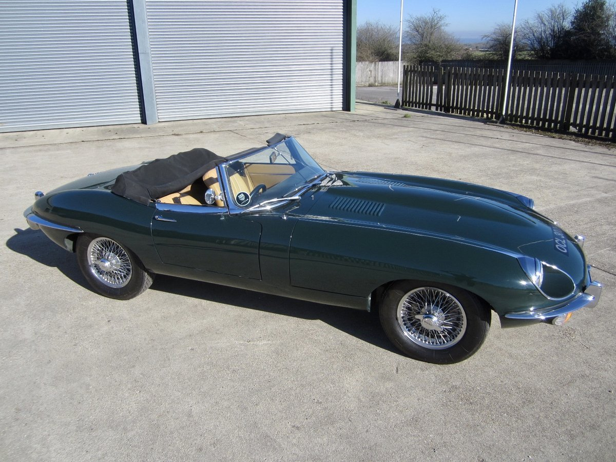 1970 Jaguar E Type SII Roadster For Sale (picture 2 of 6)