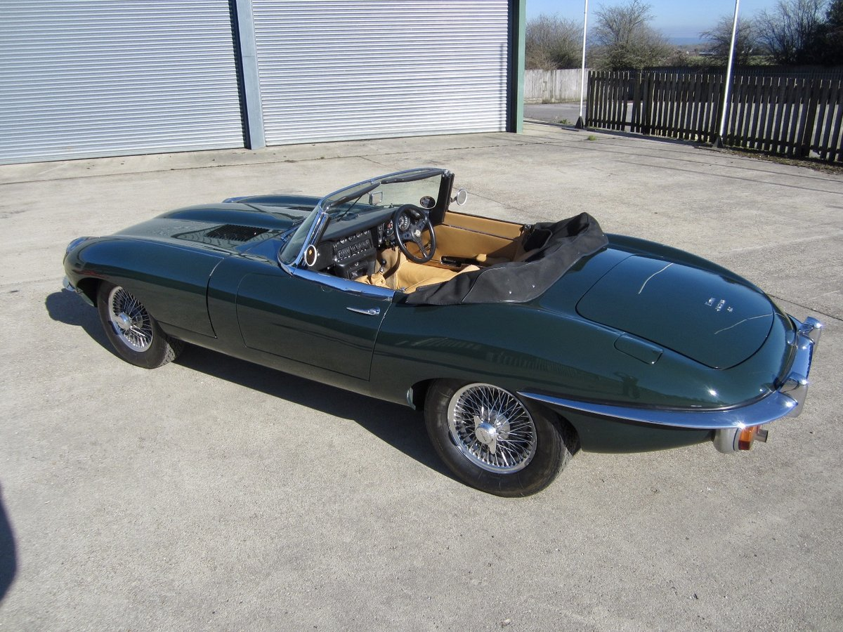 1970 Jaguar E Type SII Roadster For Sale (picture 3 of 6)