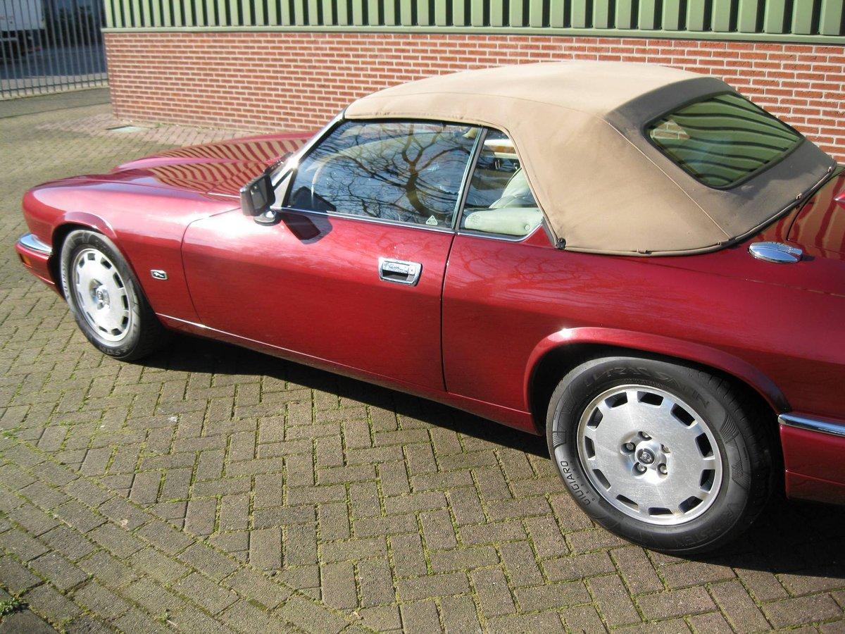 1996 Jaguar XJS 4.0 Convertible € 26.900,-- For Sale (picture 2 of 6)