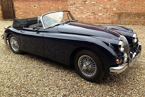 1959 Jaguar XK 150 Drop Head Coupe