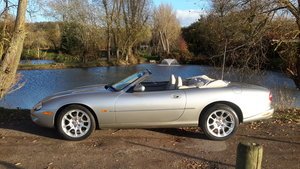 1999 JAGUAR XKR 4.0 SUPERCHARGED CONVERTIBLE 27000 miles For Sale