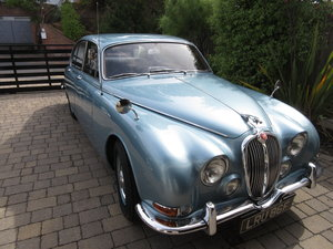 CLASSIC JAGUAR S TYPE, 1968 3.4L MANUAL WITH OD