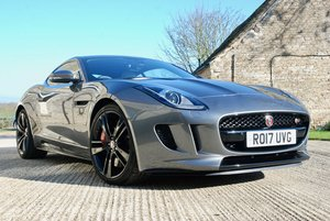 2017 JAGUAR F-TYPE 3.0 S QUICKSHIFT COUPE  For Sale