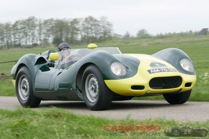 Jaguar Lister Knobbly 1959 in perfect condition For Sale