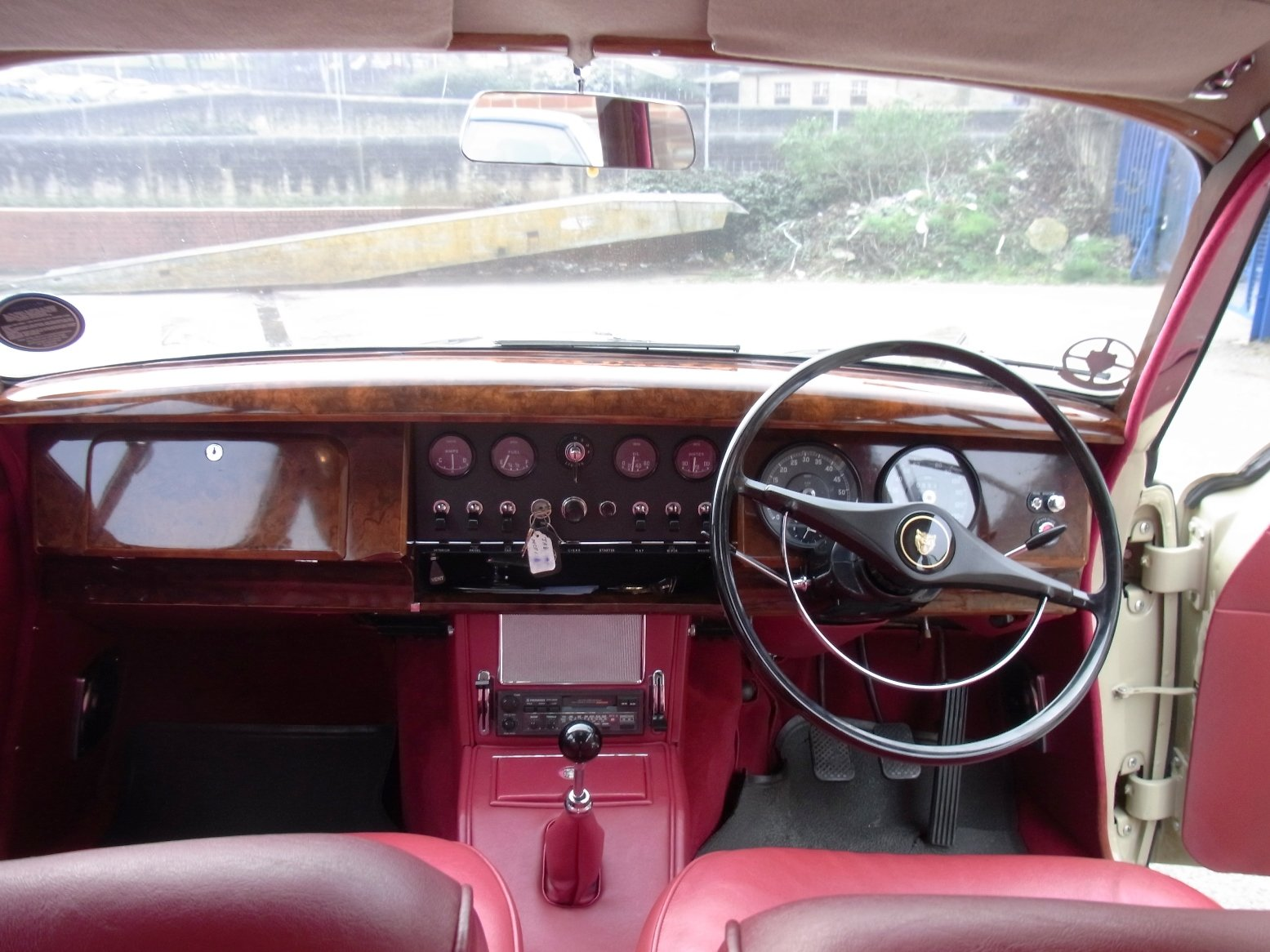 1967 Jaguar 340 Manual Saloon SOLD (picture 6 of 6)