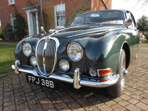 1964 JAGUAR S TYPE 3.8 UNIQUE ORIGINAL UNRESTORED  SOLD