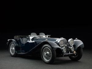 1938 SS Jaguar 100 3.5 litre