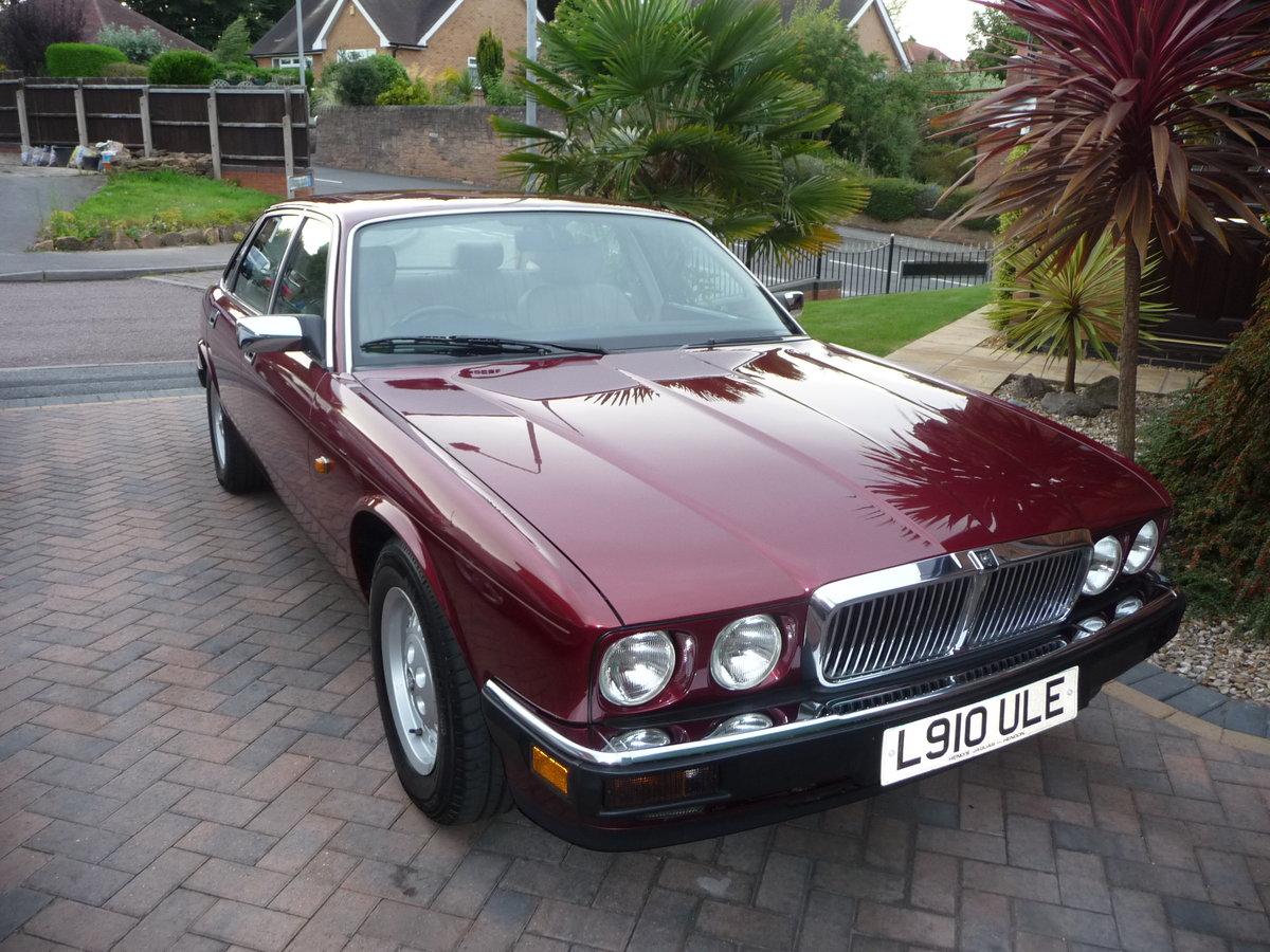 1993 Jaguar XJ6 3.2 Auto XJ40 Regency Red Pearl Metalic SOLD (picture 1 of 6)