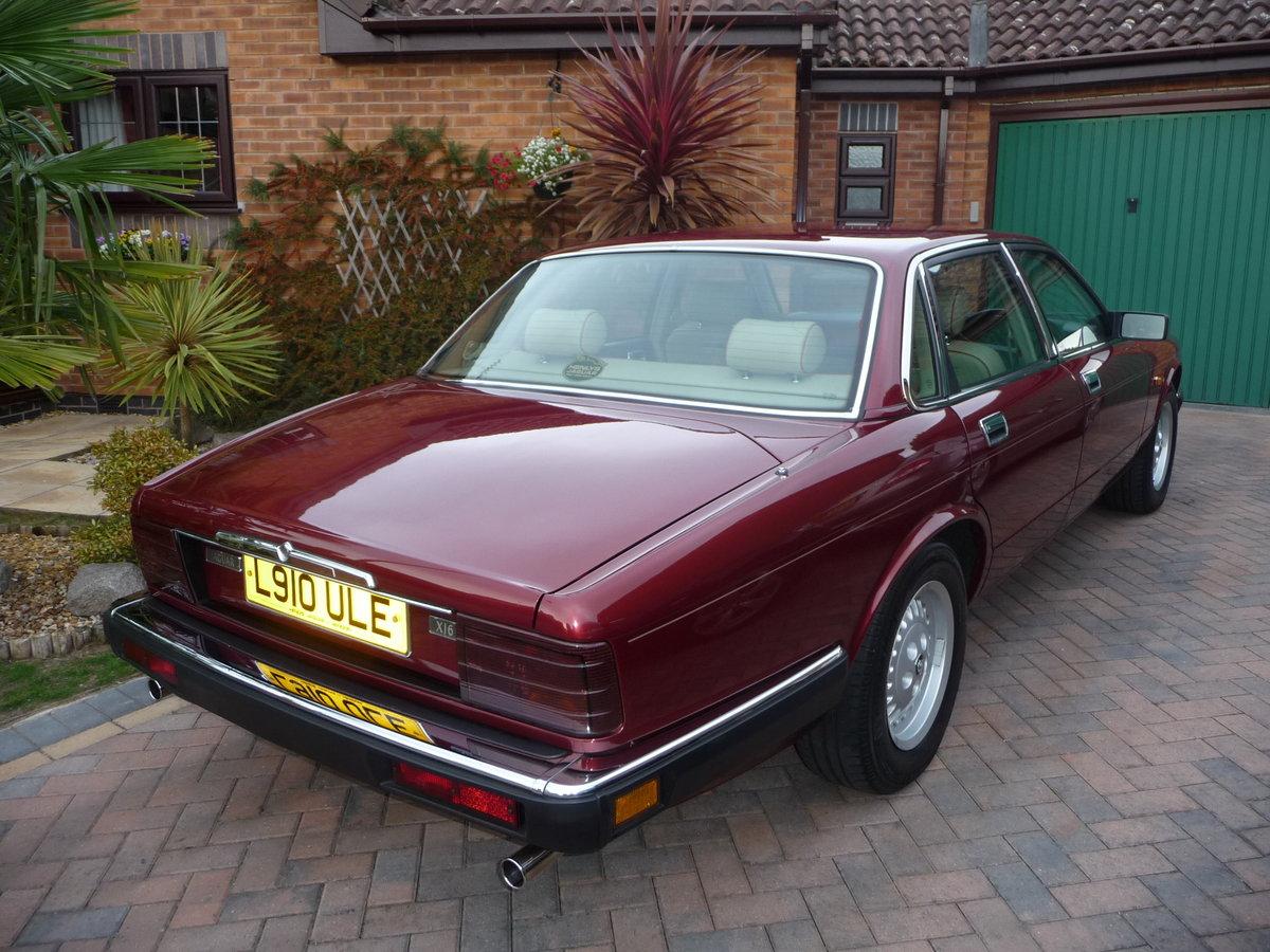 1993 Jaguar XJ6 3.2 Auto XJ40 Regency Red Pearl Metalic SOLD (picture 3 of 6)