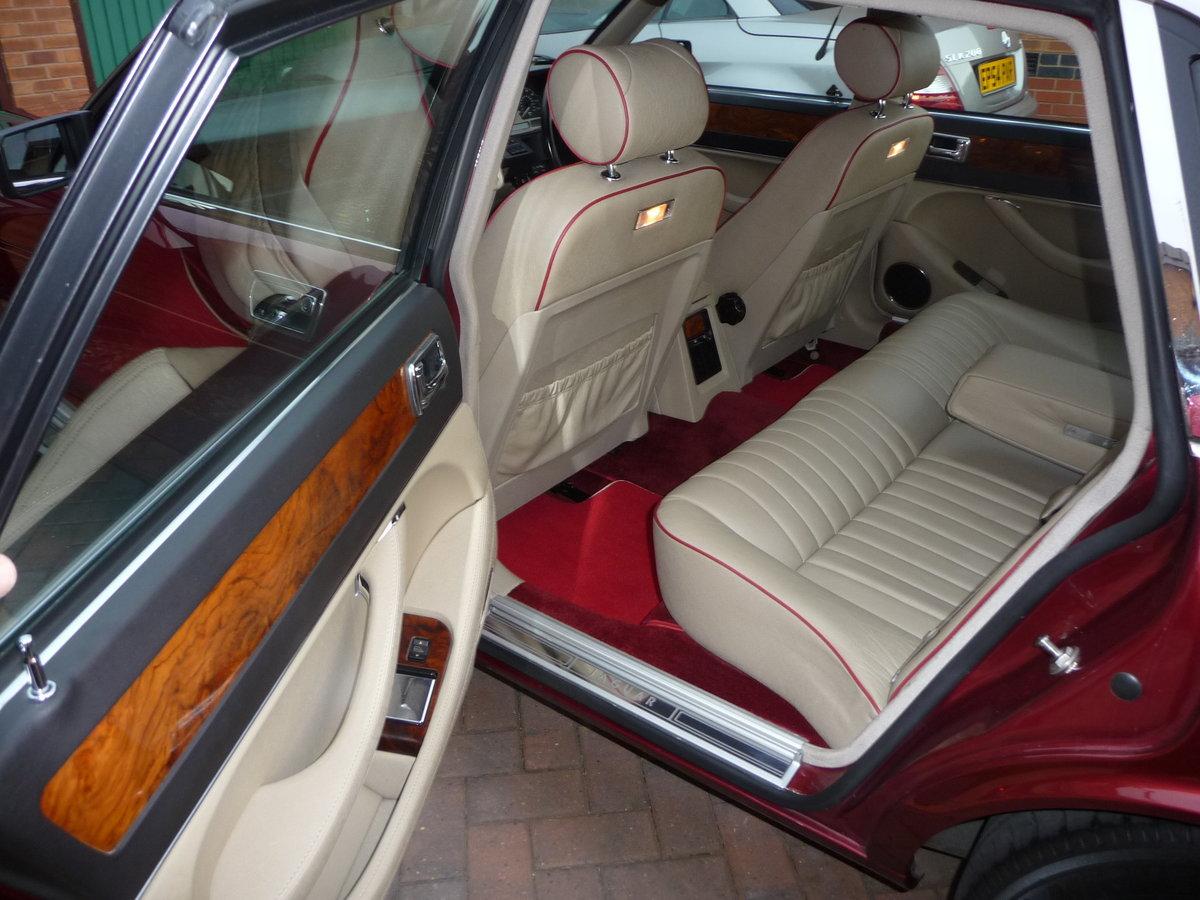 1993 Jaguar XJ6 3.2 Auto XJ40 Regency Red Pearl Metalic SOLD (picture 4 of 6)