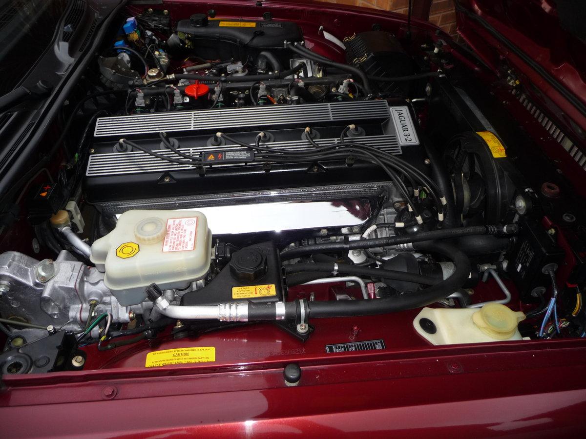 1993 Jaguar XJ6 3.2 Auto XJ40 Regency Red Pearl Metalic SOLD (picture 5 of 6)