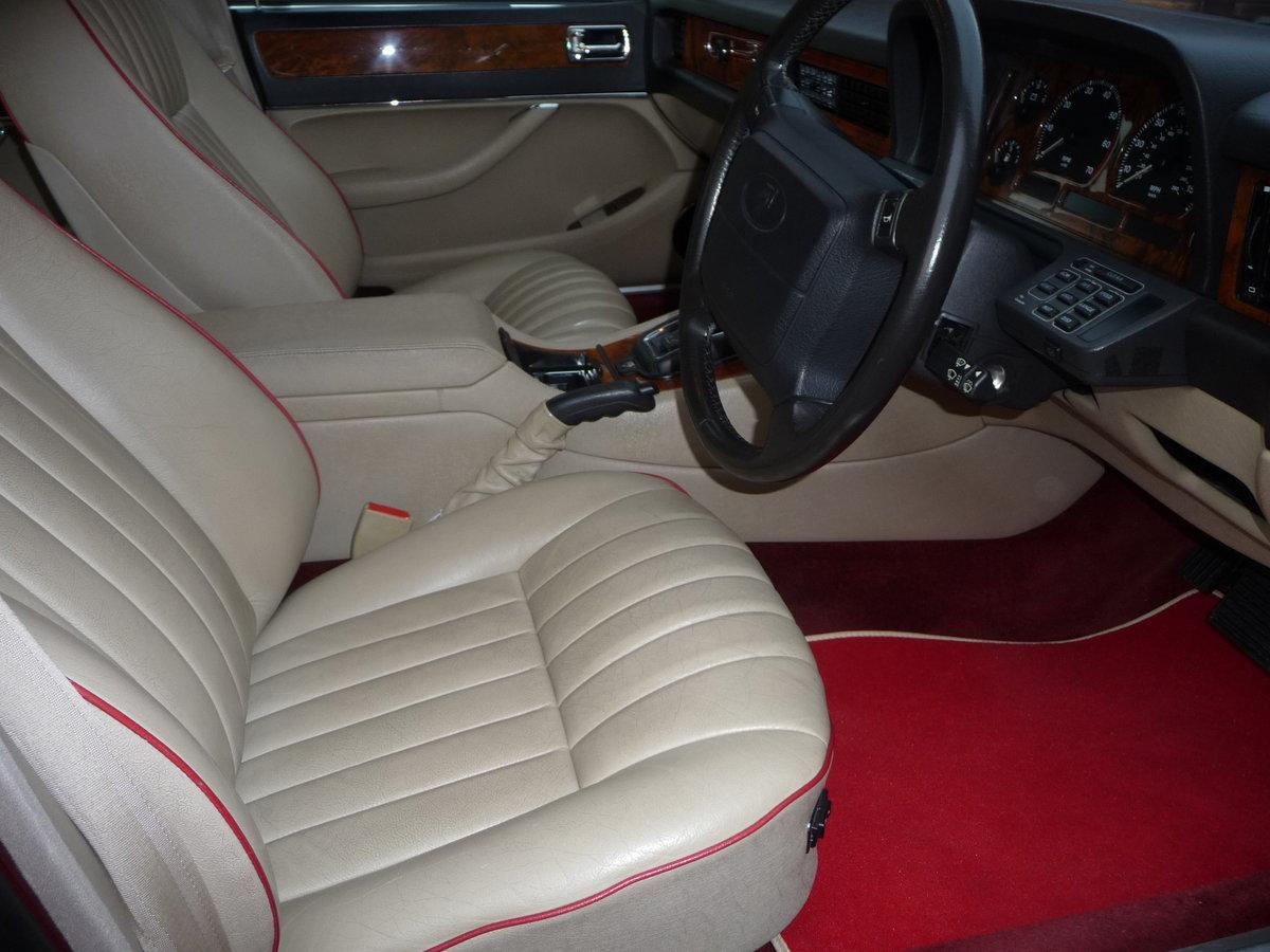 1993 Jaguar XJ6 3.2 Auto XJ40 Regency Red Pearl Metalic SOLD (picture 6 of 6)