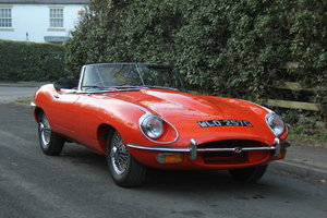 1968 Jaguar E-Type SII - UK Matching No's 'Special Factory Order' For Sale