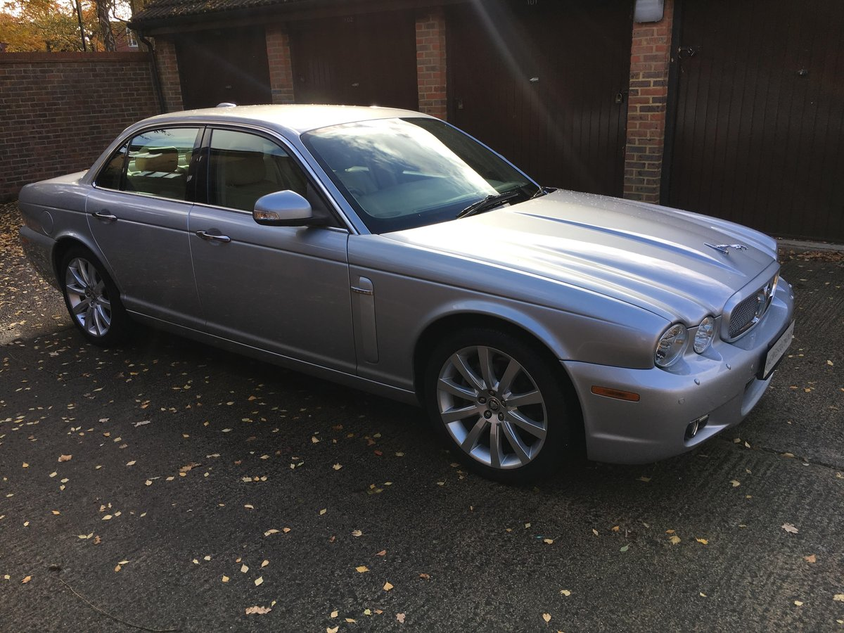 Jaguar XJ6 2008 3.0 petrol 49k, High spec, £250 tax per year For Sale (picture 1 of 6)