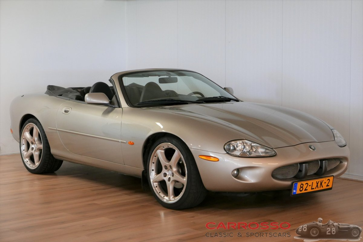 1996 Jaguar XK8 Convertible in very good condition For Sale (picture 1 of 6)