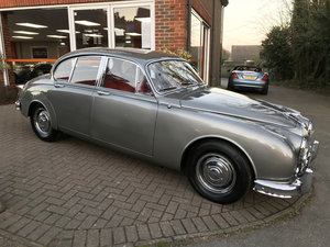 1964 JAGUAR Mk2 2.4 MANUAL (Just 52,000 miles from new) For Sale