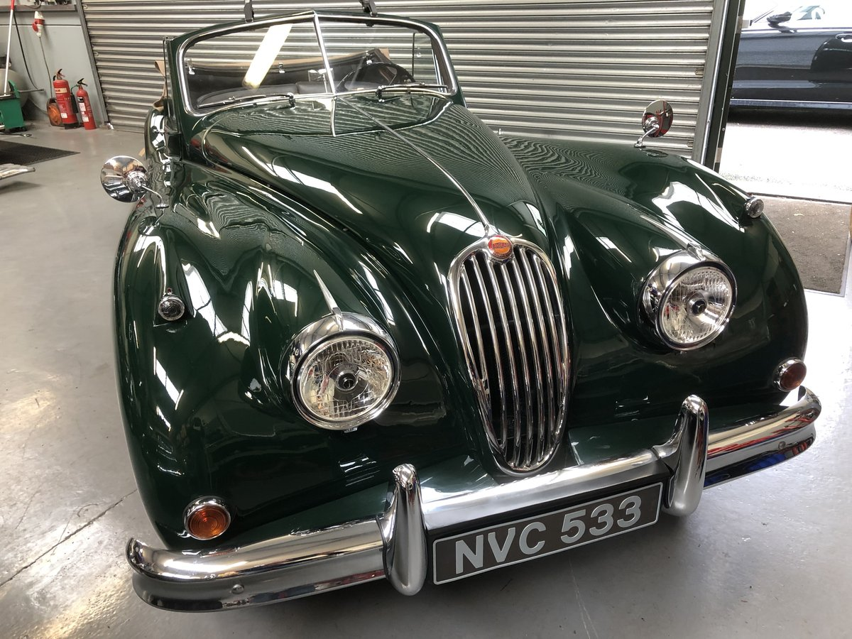 1956 Newly restored Jaguar XK140 DHC  For Sale (picture 1 of 6)