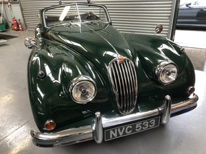 1956 Newly restored Jaguar XK140 DHC