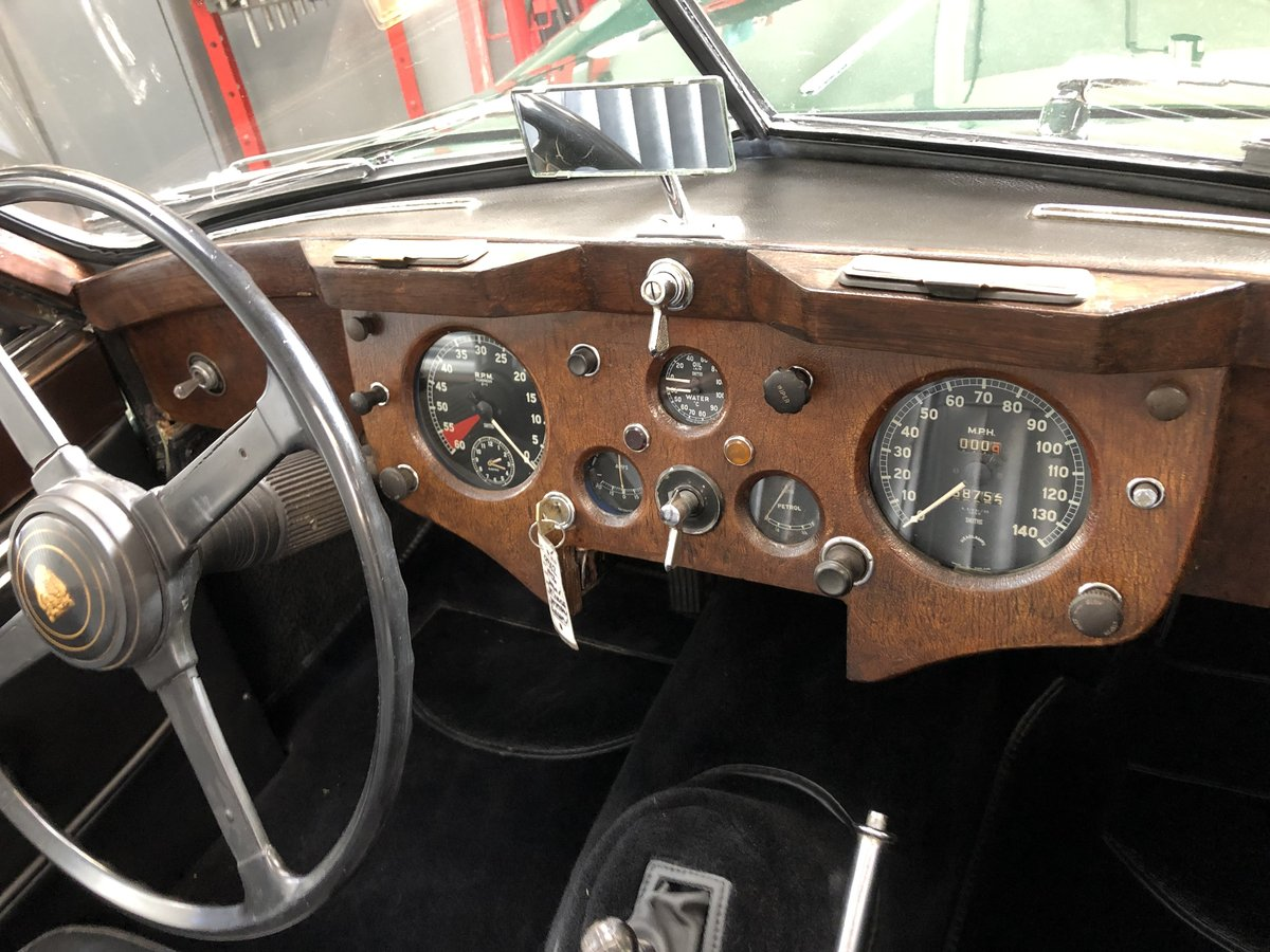 1956 Newly restored Jaguar XK140 DHC  For Sale (picture 5 of 6)